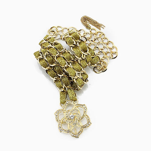 ROSE BUCKLE FEMININE CHAIN BEL - orangeshine.com