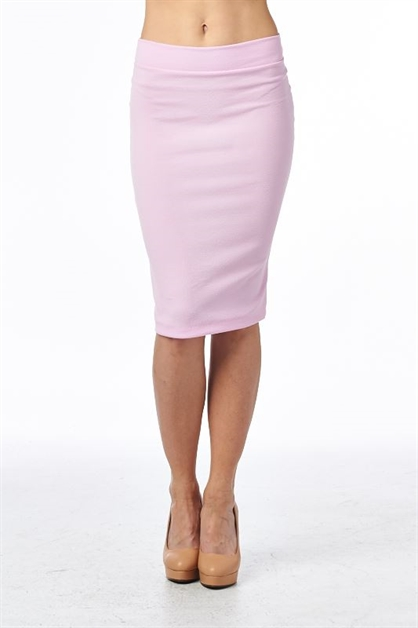 PENCIL SKIRT BACK SLIT - orangeshine.com