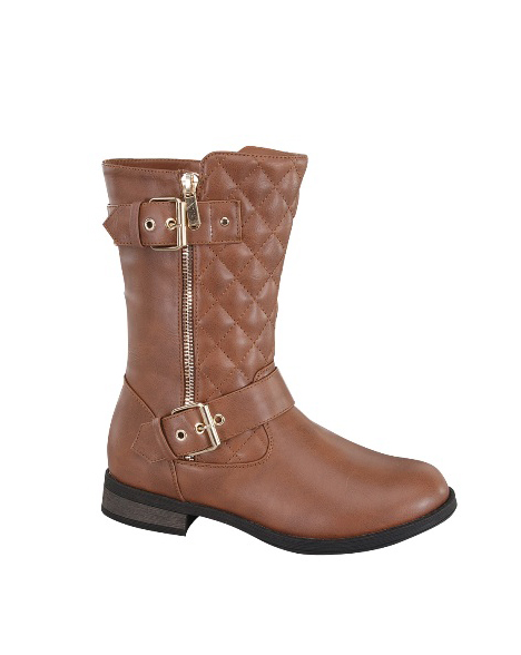 BOOTS WITH SIDE ZIPPER - orangeshine.com
