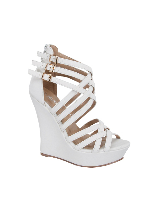 WEDGE WITH STRAPPY - orangeshine.com