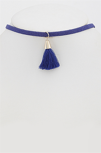 Choker with Tassel - orangeshine.com