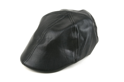 PU Leather Beret Cap - orangeshine.com
