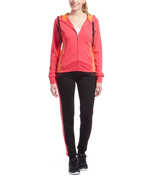 Active Wear Hoody Jacket Set  - orangeshine.com