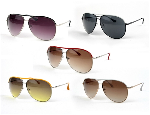 Fashion Metal Aviators - orangeshine.com