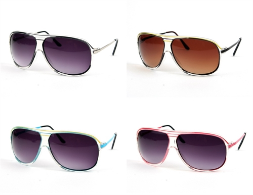 Fashion Color Aviators - orangeshine.com