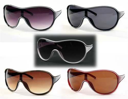 Sporty Wide Aviators - orangeshine.com