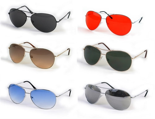 Metal X-Large Aviators - orangeshine.com
