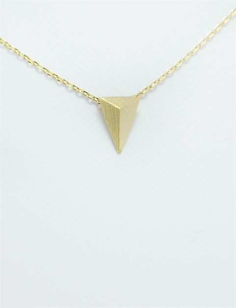 Triangle Necklace - orangeshine.com