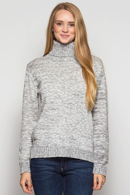 SL1177 TURTLENECK ELBOW PATCH - orangeshine.com