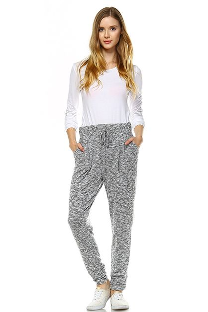 Relaxed Knit Pants - orangeshine.com