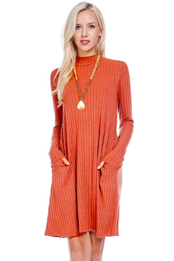 RIB DRESS - orangeshine.com