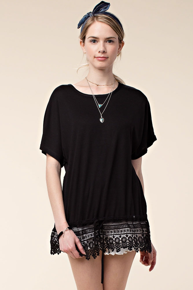 CASUAL TOP W/ WAIST TIE - orangeshine.com