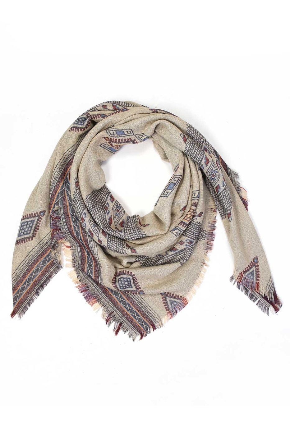 TRIBAL DESIGN SCARF - orangeshine.com