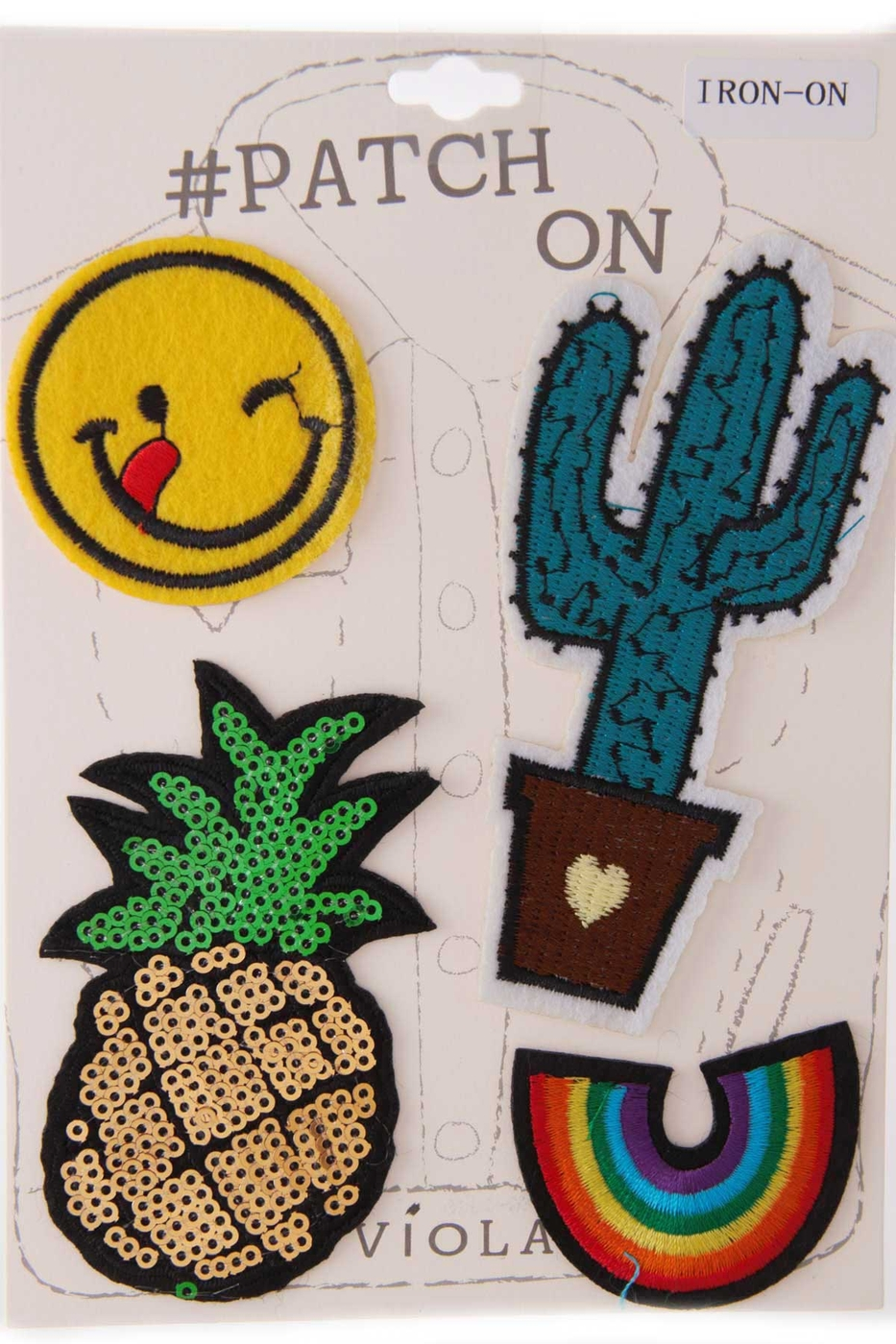 PINEAPPLE ASSORTED PATCH SET - orangeshine.com