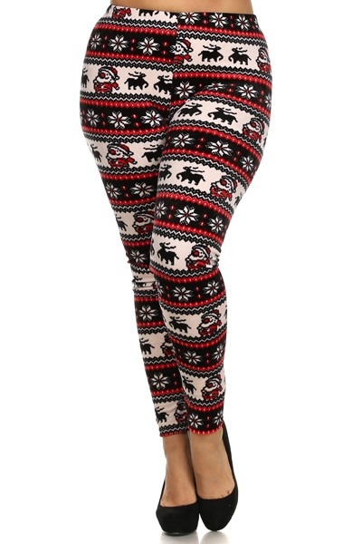 Plus size leggings - orangeshine.com