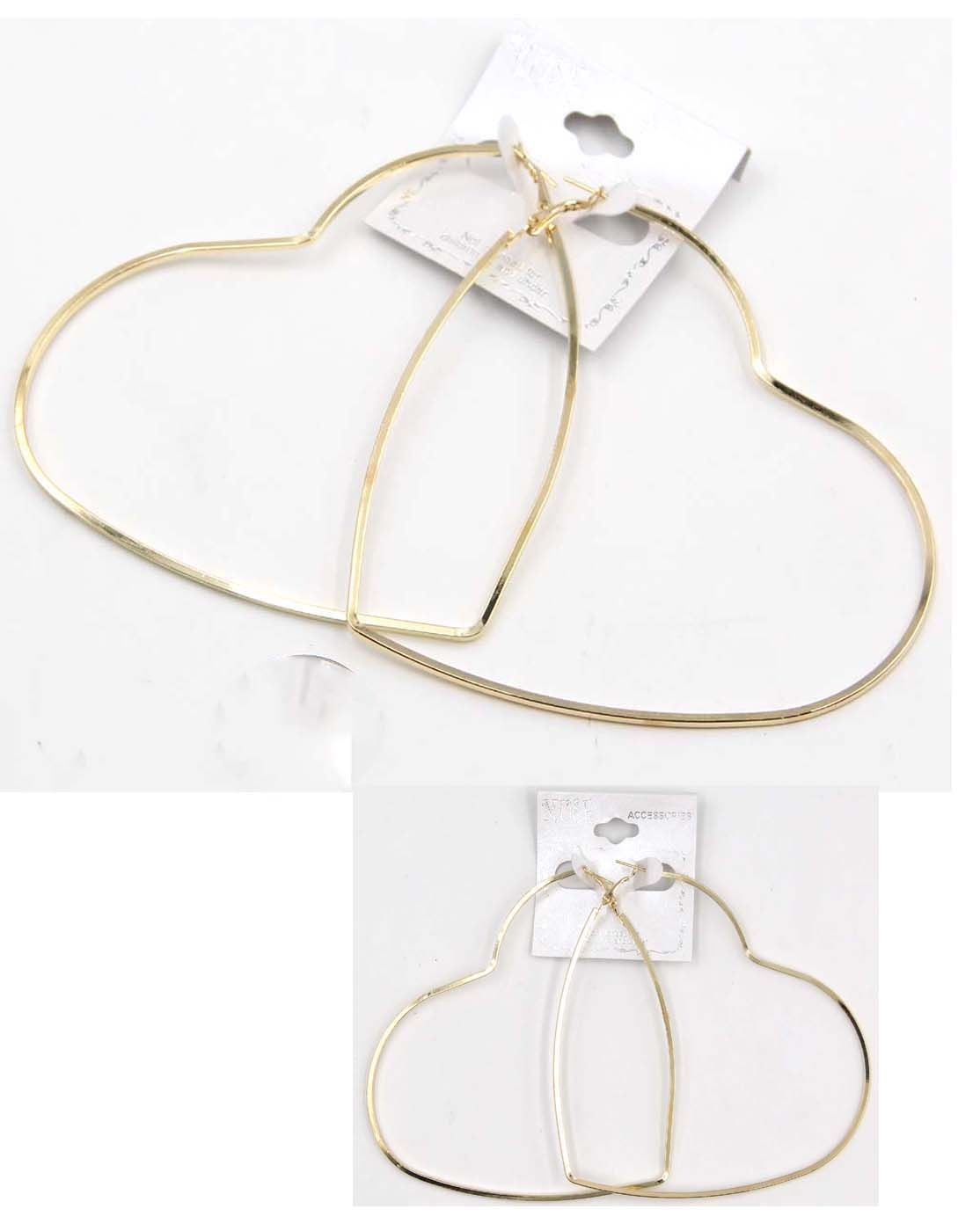 HEART EARRINGS - orangeshine.com