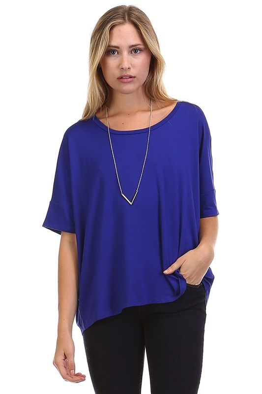 SOLID LOOSE FIT TOP - orangeshine.com