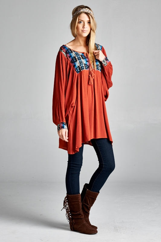 Baby doll tunic - orangeshine.com