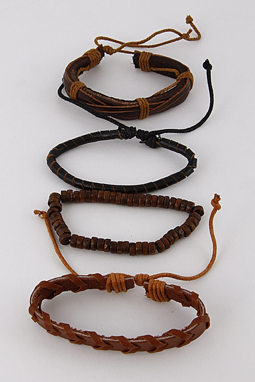 Tribal Inspired Bracelet Set - orangeshine.com