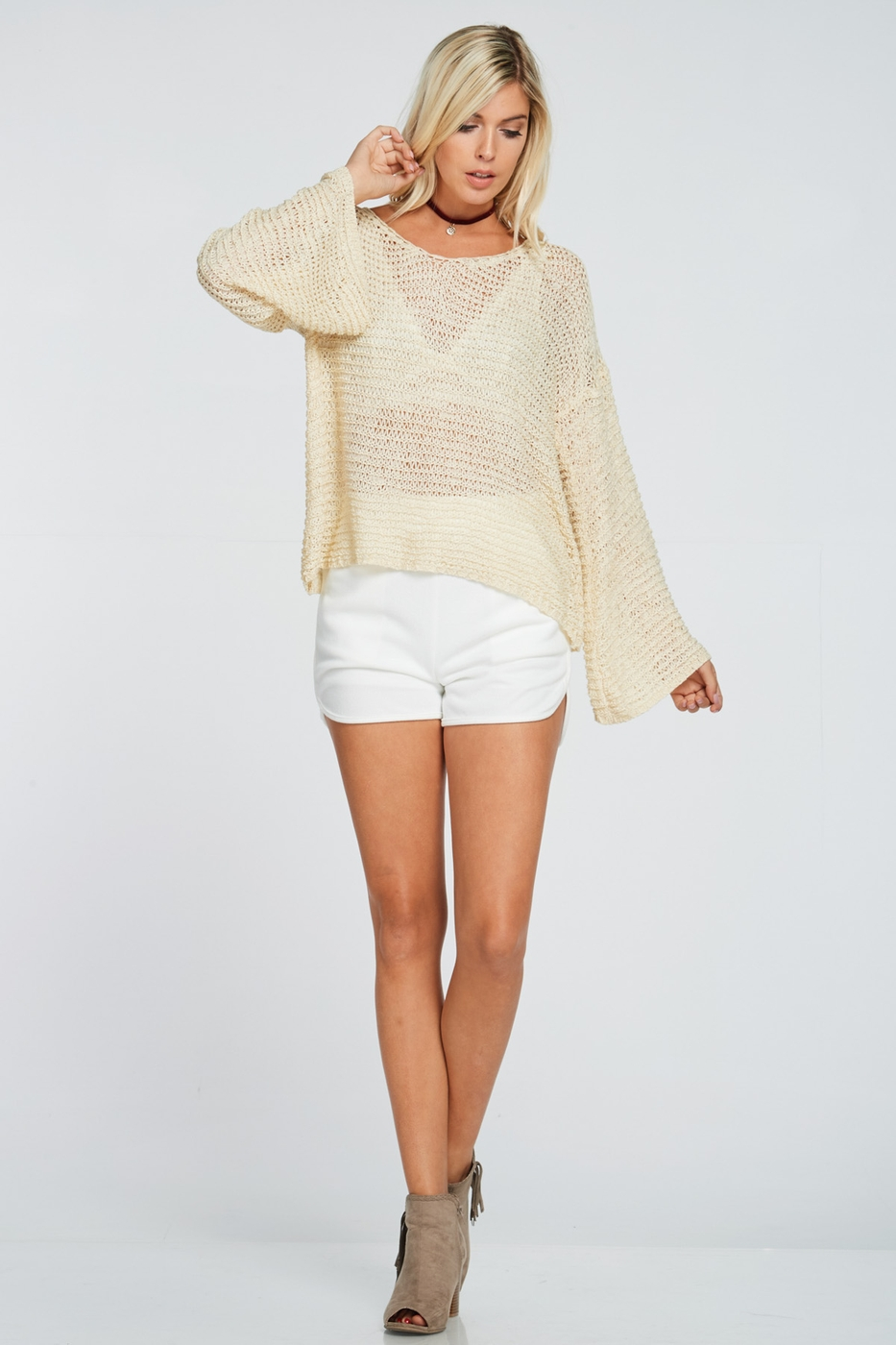 SUMMERWEIGHT KNIT TOP - orangeshine.com
