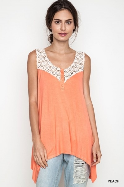 DELICATE COTTON TOP - orangeshine.com