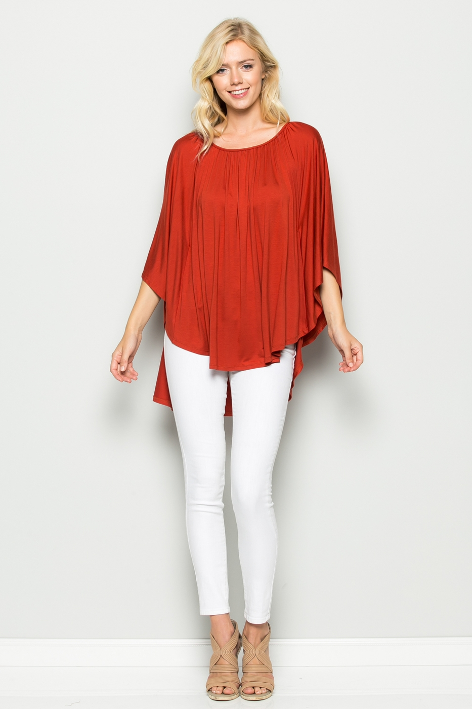 Batwing Relaxed Top - orangeshine.com
