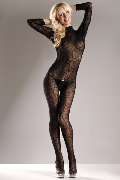 Spiderweb Body Stocking  - orangeshine.com