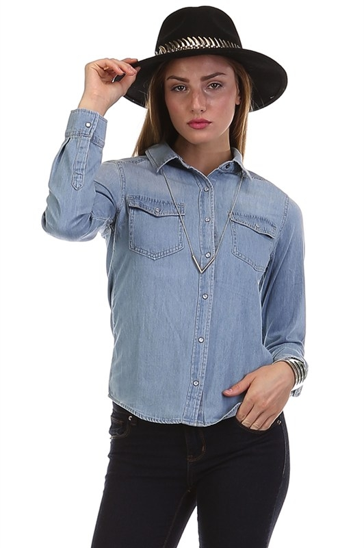 IMPORT DENIM SHIRT - orangeshine.com