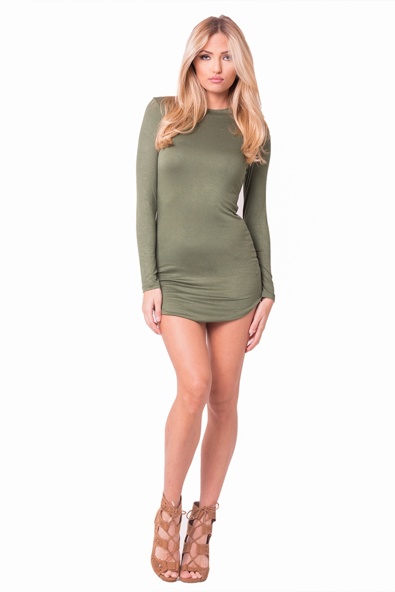 LS MJ MINI DRESS - orangeshine.com