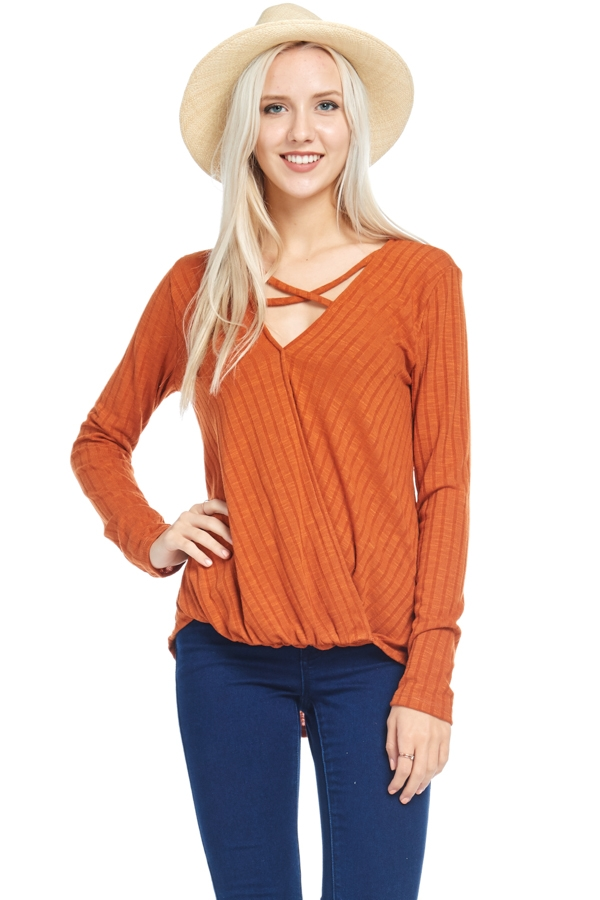 RIB TOP CROSS  - orangeshine.com