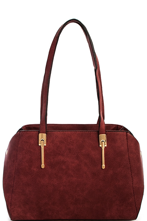Fashion Trendy Setter Satchel - orangeshine.com
