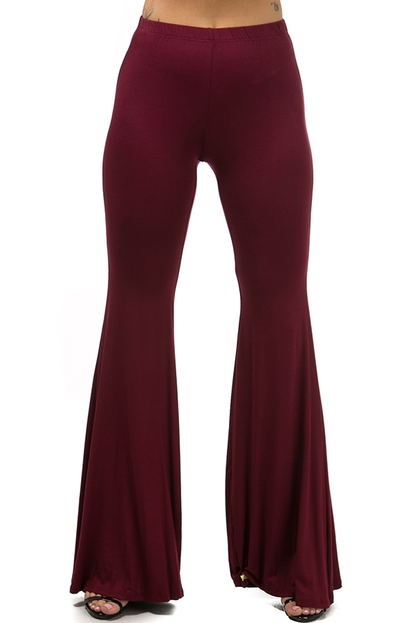 Bell bottom pants - orangeshine.com