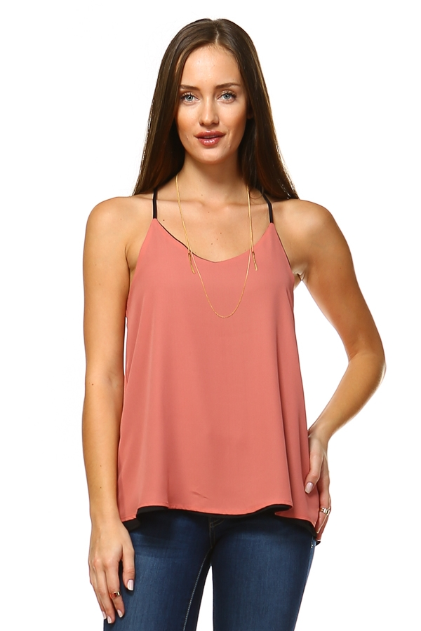 Reversible tank top - orangeshine.com