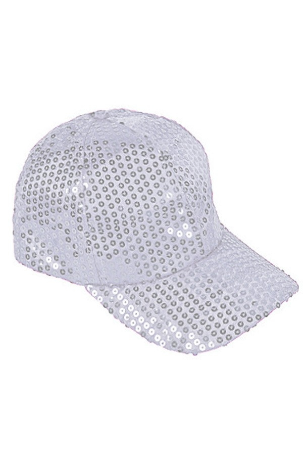 Sequin Baseball Cap - orangeshine.com
