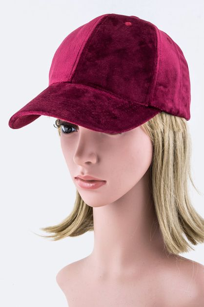 Fashion Velour Cap - orangeshine.com