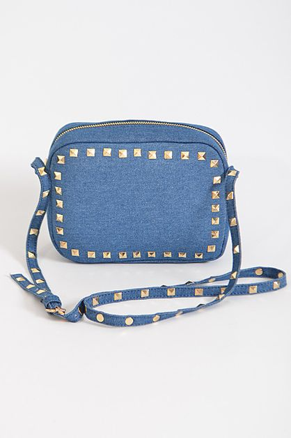 Day To Day Denim Inspired Clutch - orangeshine.com