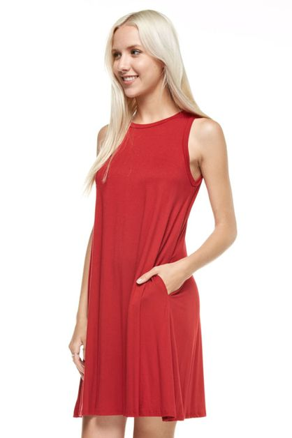 TANK DRESS - orangeshine.com