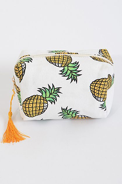 Pineapple Rectangular Clutch - orangeshine.com