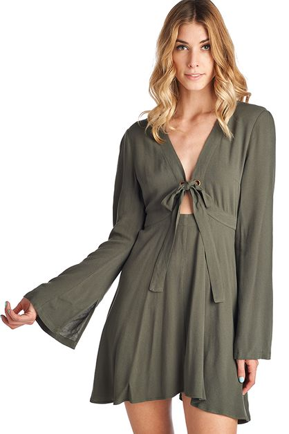 Olive Dress - orangeshine.com