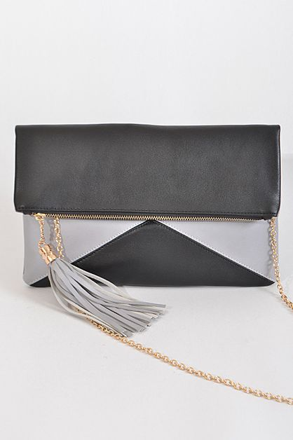Trendy Rectangular Clutch - orangeshine.com
