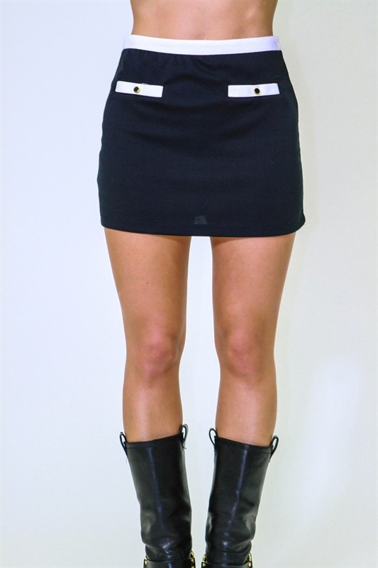 MOD MINI SKIRT - orangeshine.com