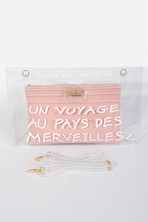 A Long Journey Inspired Clutch - orangeshine.com