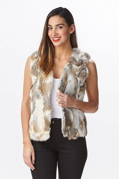 MULTI FUR VEST - orangeshine.com