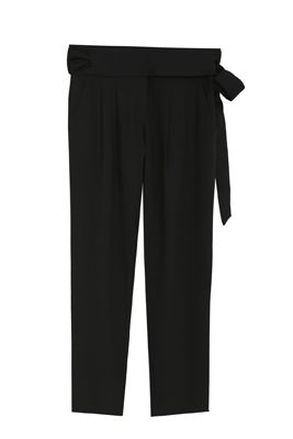 Trousers with wide belt - orangeshine.com