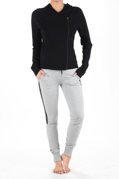 SKINNY PANTS AND JACKET ACTIVE SET - orangeshine.com