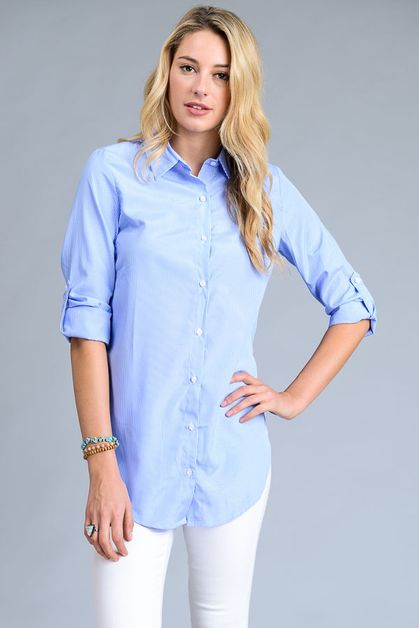 Pin Stripe Shirt - orangeshine.com