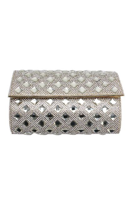 RHINESTONE EVENING BAG  - orangeshine.com