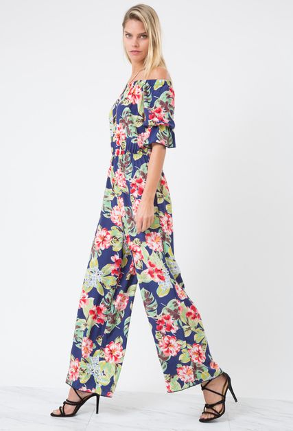 FLOWER JUMPSUIT - orangeshine.com