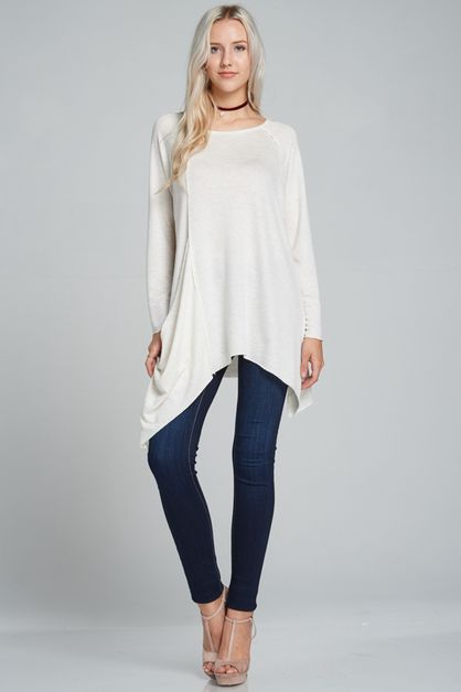 Casual Tunic top - orangeshine.com