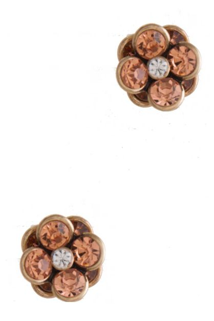 FLOWER STUD EARRING - orangeshine.com